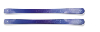 Obrázek sjezdové lyže BLIZZARD II. Black Pearl, flat, purple/blue
