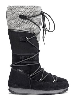 Obrázek boty MOON BOOT WE ANVERSA WOOL, 002 black/grey