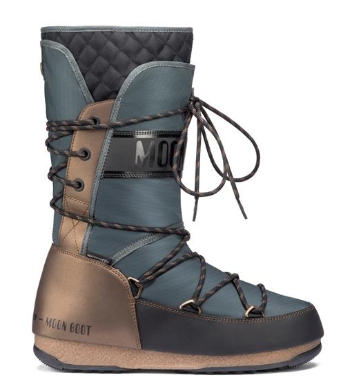 Obrázek z boty MOON BOOT MOON BOOT WE MONACO FLIP, 001 black/grey/bronze