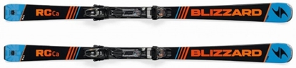 Obrázek sjezdové lyže BLIZZARD RC Ca, orange/blue/black, 17/18 + vázání BLIZZARD TP10 DEMO, blk./ant./ora., 17/18