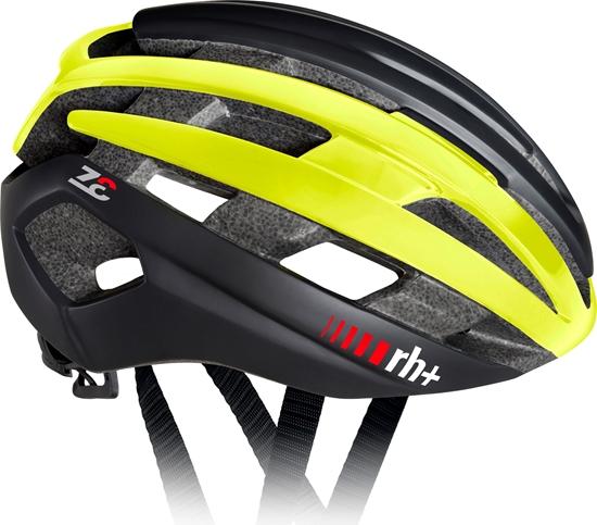 Obrázek z helma RH+ Z Epsilon, matt black/shiny yellow fluo/matt black, AKCE