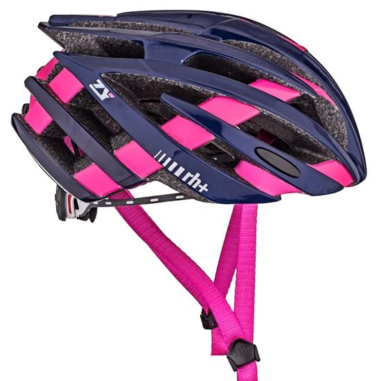 Obrázek z helma RH+ ZY, shiny blue/bridge matt fuchsia