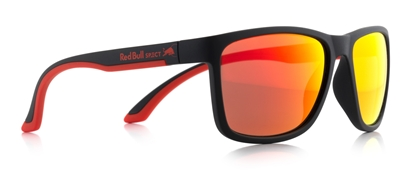 Obrázek sluneční brýle RED BULL SPECT Sun glasses, TWIST-002P, matt white/smoke with red REVO POL, 56-17-140