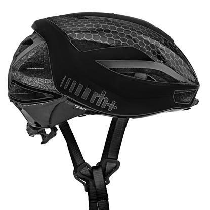 Obrázek helma RH+ Lambo, matt black/dark silver