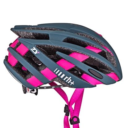 Obrázek helma RH+ ZY, matt green/bridge matt fuchsia