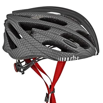 Obrázek helma RH+ Z Zero, matt black/matt red/matt dark