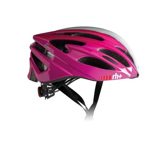 Obrázek z helma RH+ Z Zero, shiny white/shiny black/shiny fuchsia, AKCE