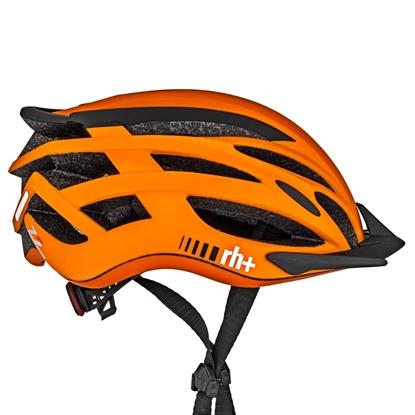 Obrázek helma RH+ Z2in1, matt orange/matt black