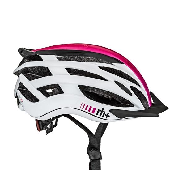 Obrázek z helma RH+ Z2in1, shiny fuchsia/shiny black/shiny white, AKCE