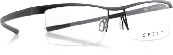 Obrázek z brýlové obruby SPECT Frame, HUG2-001, matt black/matt black, 55-17-145
