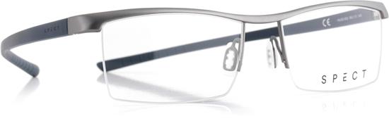 Obrázek z brýlové obruby SPECT Frame, HUG2-002, matt medium gun/matt dark grey, 55-17-145