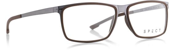 Obrázek z brýlové obruby SPECT SPECT Frame, ROLLER1-004, matt brushed light gun/matt brown rubber/matt brushed light gun/matt brown rubber, 56-14-140