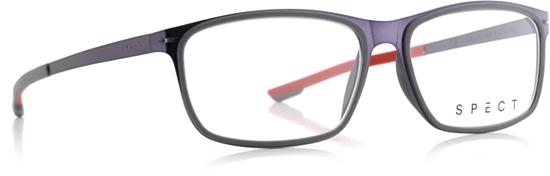 Obrázek z brýlové obruby SPECT SPECT Frame, ROLLER2-002, matt dark gun/matt grey rubber/matt dark gun/matt grey outside-matt red inside rubber, 54-15-140
