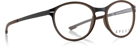 Obrázek z brýlové obruby SPECT SPECT Frame, ROLLER3-005, matt black/matt brown rubber/matt black/matt brown rubber, 49-18-140