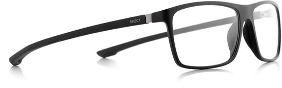 Obrázek z brýlové obruby SPECT Frame, SHIFT1-001, matt black/matt black/matt black rubber, 57-15-140