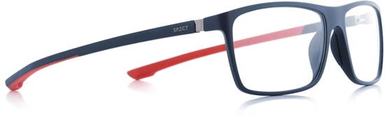 Obrázek z brýlové obruby SPECT SPECT Frame, SHIFT1-003, matt dark blue/matt dark blue/matt dark red rubber, 57-15-140