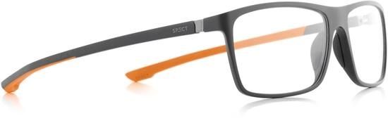 Obrázek z brýlové obruby SPECT SPECT Frame, SHIFT1-006, matt dark grey/matt dark grey/matt olive green rubber, 57-15-140