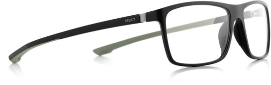 Obrázek z brýlové obruby SPECT SPECT Frame, SHIFT1-007, matt black/matt black/matt olive green rubber, 57-15-140