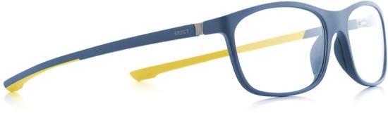 Obrázek z brýlové obruby SPECT SPECT Frame, SHIFT2-008, matt blue/matt blue/matt yellow rubber, 57-15-140