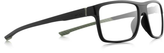 Obrázek z brýlové obruby SPECT Frame, TRACK2-005, matt black/matt black/matt olive green rubber, 57-17-145