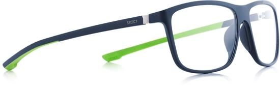 Obrázek z brýlové obruby SPECT Frame, SHIFT3-004, matt dark blue/matt dark blue/matt light green rubber, 57-15-140, AKCE