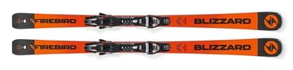 Obrázek sjezdové lyže BLIZZARD FIREBIRD Race Ti, orange/black, 18/19 + vázání BLIZZARD TPX 12 DEMO, 18/19