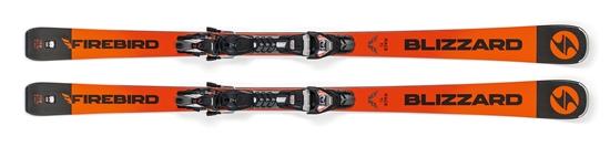 Obrázek z sjezdové lyže BLIZZARD FIREBIRD Race Ti, orange/black, 18/19 + vázání TPX 12 DEMO, 18/19