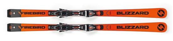 Obrázek z sjezdové lyže BLIZZARD FIREBIRD WRC, 18/19 + vázání XCELL 12 DEMO, 18/19