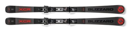 Obrázek sjezdové lyže BLIZZARD XCR, rental, 18/19 + vázání TLT 10 DEMO, black/anthr., 18/19