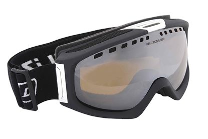 Obrázek lyžařské brýle BLIZZARD Ski Gog. 933 MDAVZSP, black matt, honey2, silver mirror, polarized, AKCE