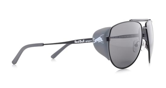 Obrázek z sluneční brýle RED BULL SPECT RB SPECT Sun glasses, GRAYSPEAK-002P, black/brown with silver flash POL, 61-15-138