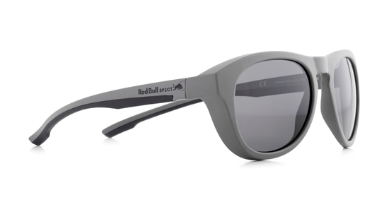Obrázek z sluneční brýle RED BULL SPECT RB SPECT Sun glasses, KINGMAN-006P, light grey/smoke gradient with silver flash POL, 51-19-145