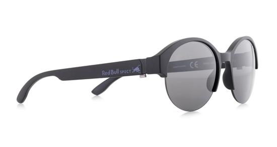 Obrázek z sluneční brýle RED BULL SPECT Sun glasses, WING5-002P, black/smoke POL, 52-18-145