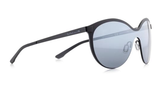 Obrázek z sluneční brýle RED BULL SPECT Sun glasses, GRAVITY3-002, black/smoke with silver flash, 128-135