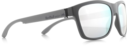 Obrázek sluneční brýle RED BULL SPECT RB SPECT Sun glasses, WING2-003P, matt dark, grey/smoke with silver mirror POL, 57-17-145