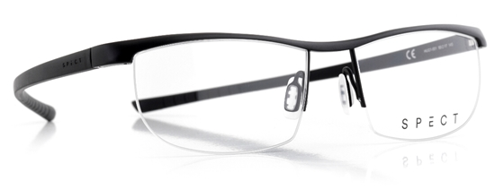 Obrázek z brýlové obruby SPECT SPECT Frame, HUG1-001, matt black/matt black, 55-17-145