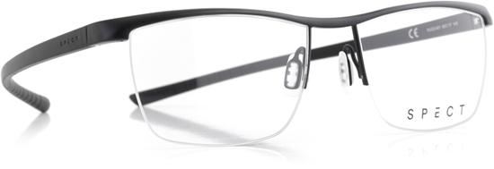 Obrázek z brýlové obruby SPECT Frame, HUG3-001, matt black/matt black, 55-17-145