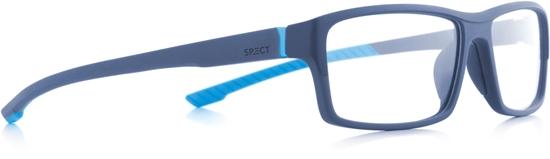 Obrázek z brýlové obruby SPECT Frame, TRACK1-005, matt blue/matt blue/matt light blue rubber, 57-15-145