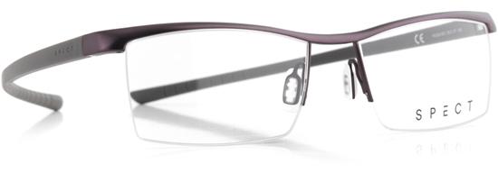 Obrázek z brýlové obruby SPECT Frame, HUG2-003, matt dark brown/matt military green, 55-17-145