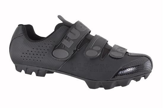Obrázek z cyklistické boty LUCK MATRIX cycling shoes, matte black