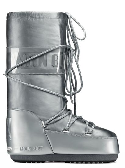 Obrázek z moon boots MOON BOOT GLANCE, 002 silver