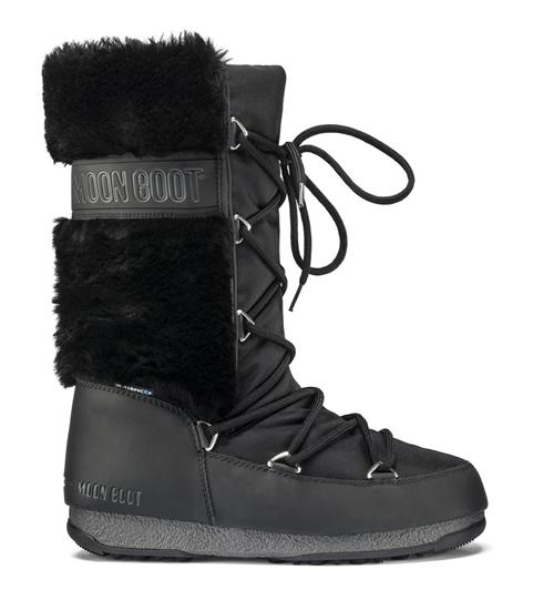 Obrázek z boty MOON BOOT WE MONACO FUR, 001 black