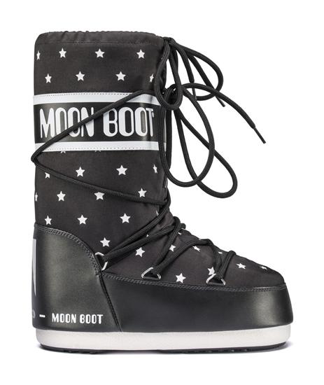 Obrázek z boty MOON BOOT STAR JR, 001 black/white