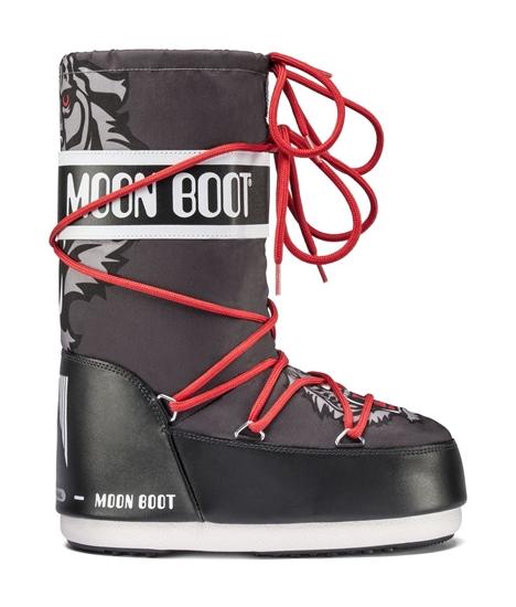 Obrázek z boty MOON BOOT TIGER JR, 001 black/anthracite