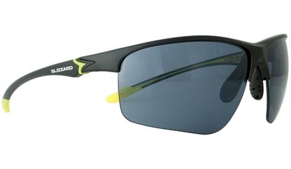 Obrázek sluneční brýle BLIZZARD sun glasses PC651-004 matt black, 70-20-142