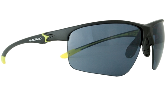 Obrázek z sluneční brýle BLIZZARD sun glasses PC651-004 matt black, 70-20-142