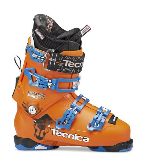Obrázek z lyžařské boty TECNICA Cochise 130 Pro 98 mm, bright orange, AKCE