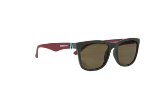 Obrázek z sluneční brýle BLIZZARD sun glasses PC4064-002 soft touch dark grey rubber, 56-15-133