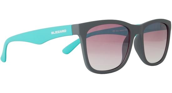 Obrázek z sluneční brýle BLIZZARD sun glasses PC4064-005, rubber dark grey, 56-15-133