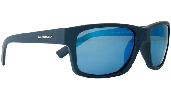 Obrázek z sluneční brýle BLIZZARD sun glasses POL602-0021 rubber dark blue, 67-17-135
